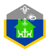At Home Challenge Badge - Cubs (Greater Manchester Counties) badge