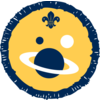 Space badge