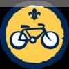 Cyclist badge