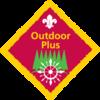 Outdoor Plus (Pre 2015) badge