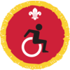 Disability Awareness badge