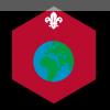 World badge