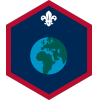 World (Pre 2018) badge