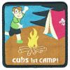 1st Cub Camp Badge (Camp Blanket Badge) badge