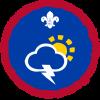 Meteorologist badge