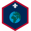 World badge