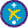 Air Activities badge (Level 1)