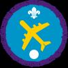 Air Activities badge (Level 3)