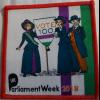 UK Parliament Week 2018 (Occasional Badges) badge