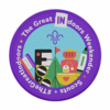 Scouts The Great Indoors Weekender Fun Badge (Occasional Badges) badge